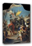 Tiepolo, Giovanni Battista: The Triumph of Marius. Roman Historical Fine Art Canvas. Sizes: A3/A2/A1 (00220)